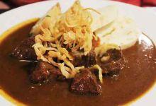 布拉格美食图片-捷克炖牛肉