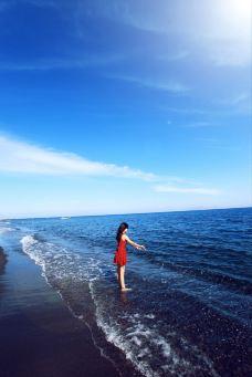 贝里沙海滩-圣托里尼-小狼不是野马君