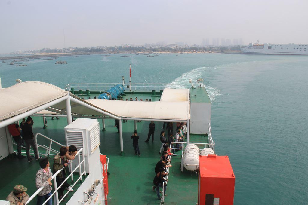 12.粤海铁路轮渡--离开徐闻