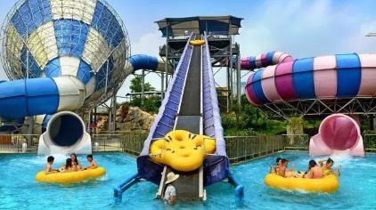 罗山湖水上乐园 (1)