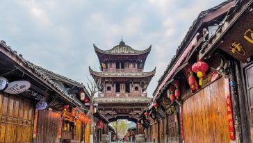 阆中 阆中古城 中天楼 (1)
