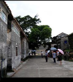 高要区游记图文-城记广东-肇庆之六:八卦村中觅玄机