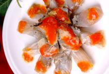 宁波美食图片-红膏炝蟹