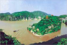 南津关-长江三峡-路上的友人