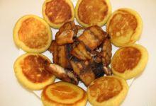 烟台美食图片-咸鱼饼子