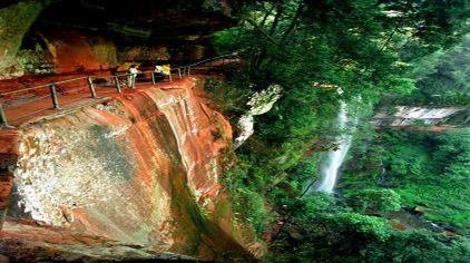 燕子岩天梯