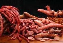 里昂美食图片-玫瑰腊肠