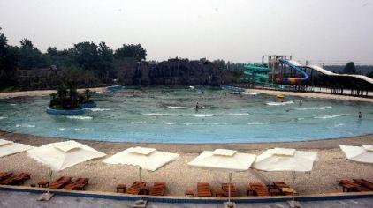 温泉海浪池
