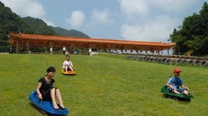 飞云峡-滑草场
