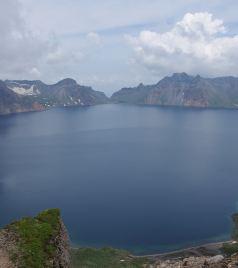 白山游记图文-最好的角度看长白山天池