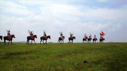 龙里大草原马队