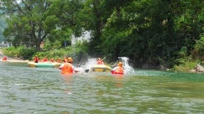 九龙溪戏水