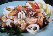 威尼斯美食图片-什锦海鲜沙拉